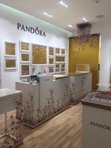 negozio pandora